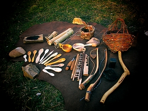 stage bushcraft techniques primitives jura ain unisversnature