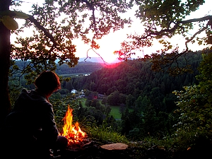 immersion unis vers nature stage bushcraft jura cuisine sauvage